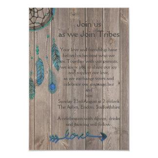 夢のキャッチャーの結婚式 カード
