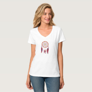 夢のキャッチャーのTシャツ Tシャツ