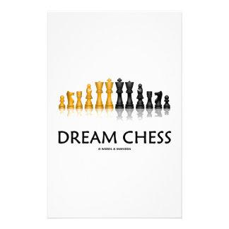 夢のチェス(反射チェスのこまセット) 便箋