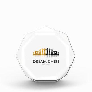 夢のチェス(反射チェスのこまセット) 表彰盾