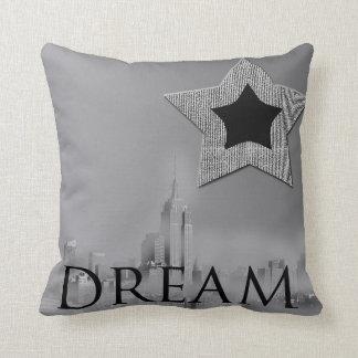 夢のニューヨークシティの星の装飾用クッション クッション