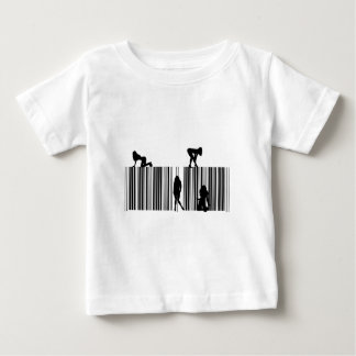夢のバーコード ベビーTシャツ