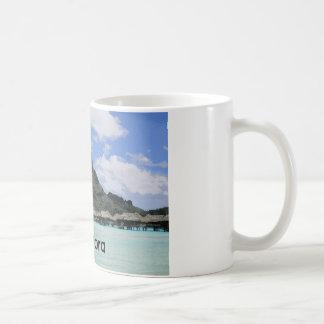 夢の休暇のBora Boraタヒチの環礁の形成 コーヒーマグカップ