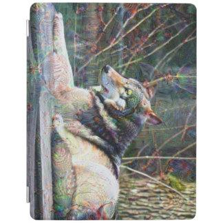 夢の創造物、オオカミ、DeepDream iPadスマートカバー
