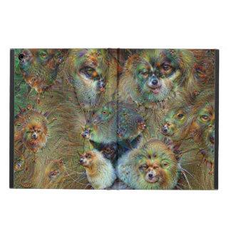 夢の創造物、ライオン02、DeepDream iPad Airケース