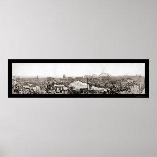 夢の国の破壊の写真1911年 ポスター
