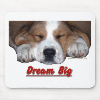 夢の大きいサンベルナール峠睡眠の組合せ マウスパッド