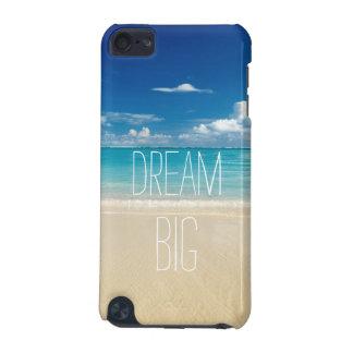 夢の大きい感動的で、やる気を起こさせるな引用文 iPod TOUCH 5G ケース