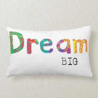 夢の大きい枕多彩な文字のオリジナルの芸術 ランバークッション