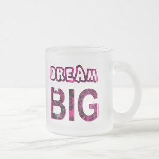 夢の大きい フロストグラスマグカップ