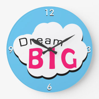 夢の大きい ラージ壁時計