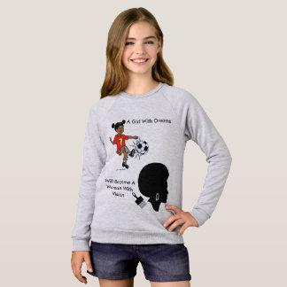 夢の女の子 スウェットシャツ