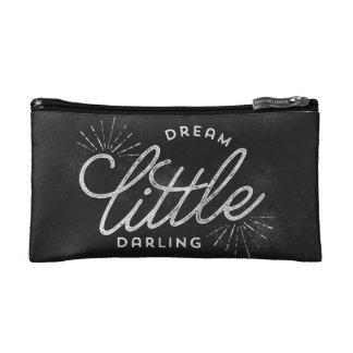 夢の小さい最愛の黒板 コスメティックバッグ