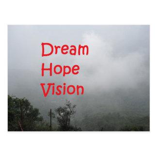 夢の希望の視野 ポストカード
