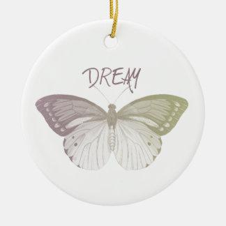 夢の蝶 セラミックオーナメント