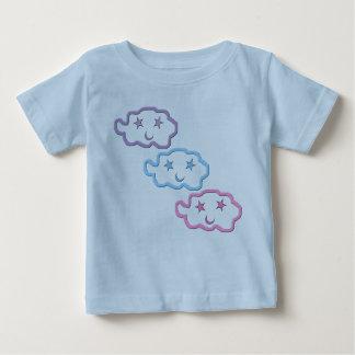 夢の雲の友人の角度の乳児のワイシャツ ベビーTシャツ