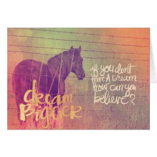 夢の馬 カード