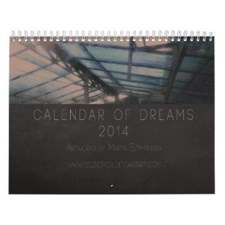 夢の2014カレンダー カレンダー