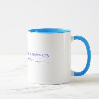 夢はあなたのimaginationImagineのwhから…なされます マグカップ