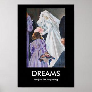 夢はちょうど始めです ポスター