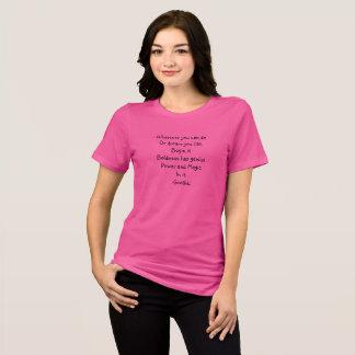 夢は引用文の女性にTシャツを信じ、 Tシャツ