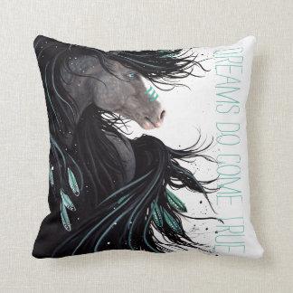 夢はBihrleによって本当の馬の枕を来ます クッション