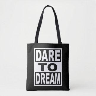 夢への挑戦 トートバッグ