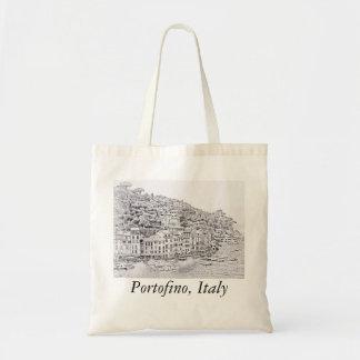 夢みるようでロマンチックなPortofinoのイタリアのトートバック トートバッグ