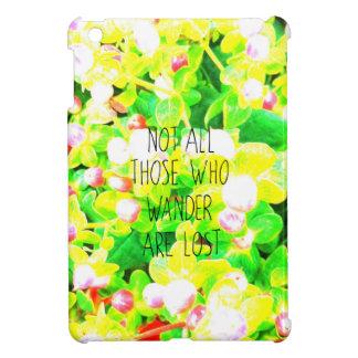夢みるようなさまよう哲学のタイポグラフィ iPad MINI カバー