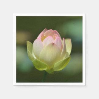 夢みるようなはす花 スタンダードカクテルナプキン