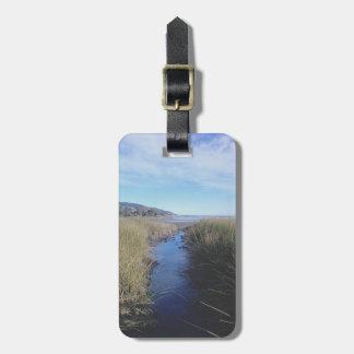 夢みるような入り江の荷物のラベル ラゲッジタグ