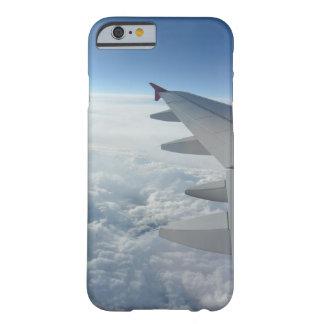 夢みるような旅行飛行機の飛行機のwanderlustのヒップスター barely there iPhone 6 ケース