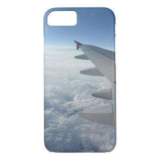 夢みるような旅行飛行機の飛行機のwanderlustのヒップスター iPhone 8/7ケース
