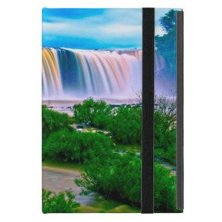 夢みるような滝の景色 iPad MINI ケース