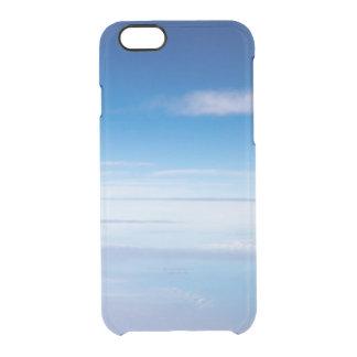 夢みるような青空の雲の夜明けの写真のヒップスターのゆとり クリアiPhone 6/6Sケース