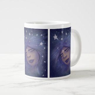 夢みる人のジャンボマグ ジャンボコーヒーマグカップ