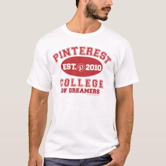 夢みる人のPinterestの大学 Tシャツ