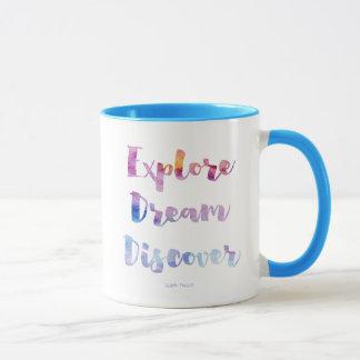 夢を発見します探検して下さい マグカップ