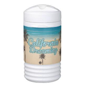 夢を見るカリフォルニアビーチ ドリンククーラー