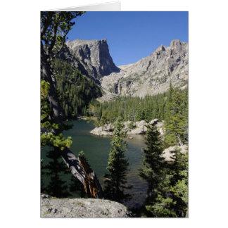 夢湖、コロラド州カード カード