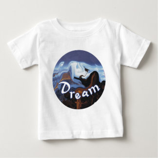 夢 ベビーTシャツ
