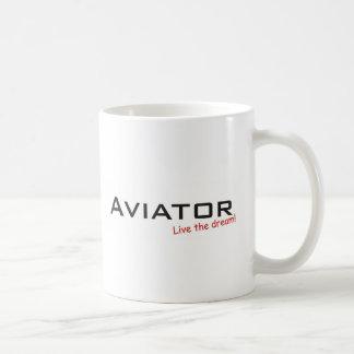 夢/飛行士 コーヒーマグカップ