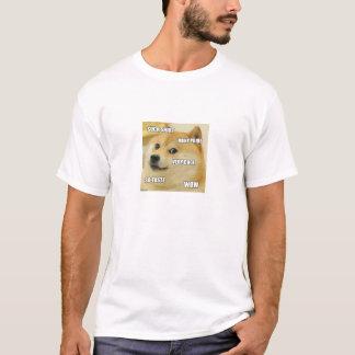 大いに総督wow! tシャツ