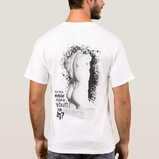 大きいお尻の大理石像 Tシャツ