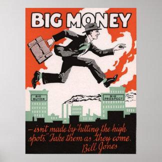 大きいお金 ポスター