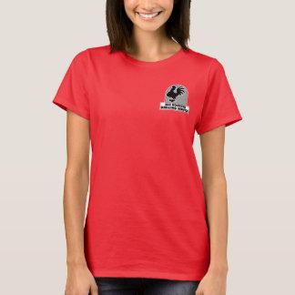 大きいオンドリ鋭いサービス2ワイシャツ Tシャツ