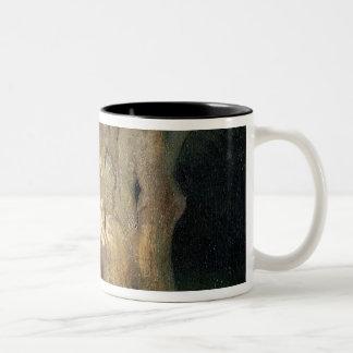 大きいカシ ツートーンマグカップ