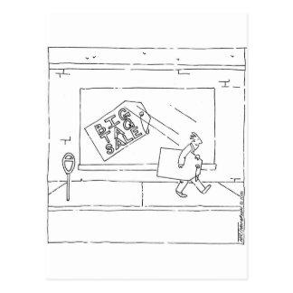 大きいガレージセール ポストカード