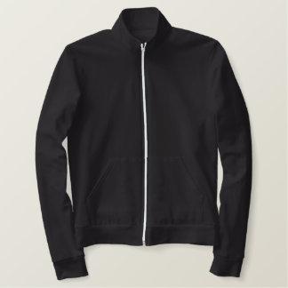大きいクールなパパによって刺繍されるジャケットブラウン 刺繍入りジャケット