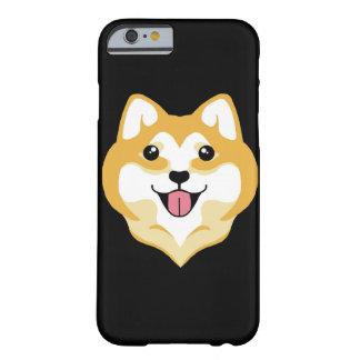 大きいスマイルのiPhone 6の場合@ Kiki Shiba Barely There iPhone 6 ケース